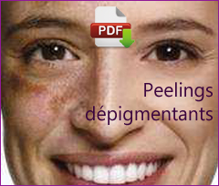 Peelings dépigmentants